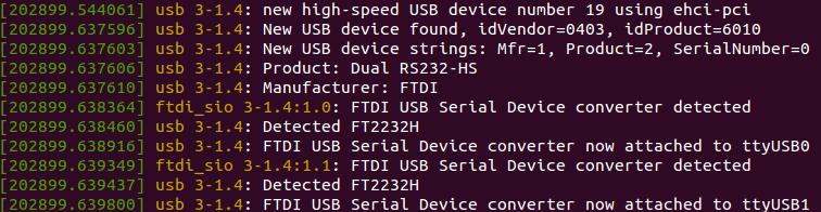 UART Detected